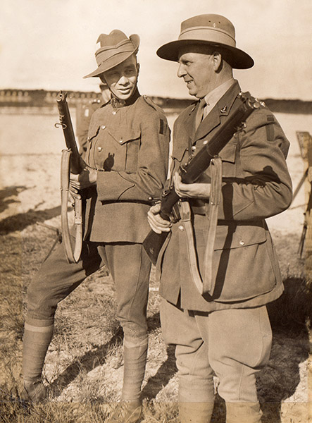 W L Goldsmith wins 1936 Malitia Shoot.